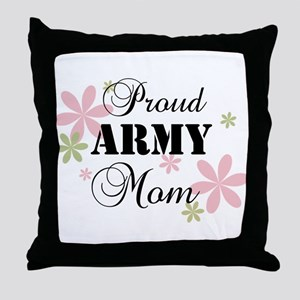 Army Mom [fl] Throw Pillow